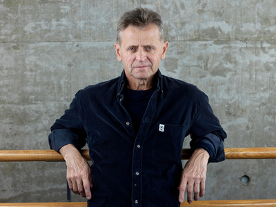 "Legendary dancer Mikhail Baryshnikov is featured as the first subject in CITIZENS OF HUMANITY film series ""Just Like You"" profiling the creative paths of the innovators who inspire the brand - Photo by Peter Hurley.  (PRNewsFoto/CITIZENS OF HUMANITY, Peter Hurley)"