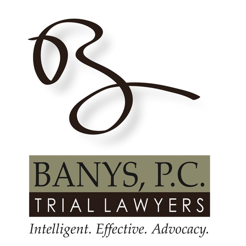 Banys, P.C. is a team of trial lawyers dedicated to getting results for its clients. The firm brings intelligent, effective advocacy to courtrooms around the nation in intellectual property, commercial, personal injury and class action cases.  For more information visit www.banyspc.com.  (PRNewsFoto/Banys, P.C.)