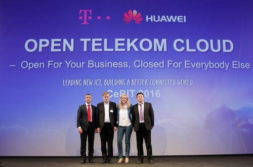 Deutsche Telekom and Huawei jointly announced the launch of Open Telekom Cloud