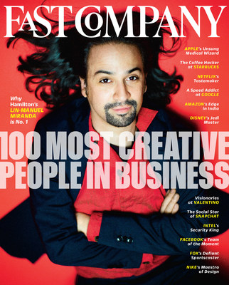 Fast Company Announces Annual List of the 100 Most Creative People in Business