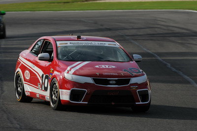 Kia Racing captures Street Tuner Driver and Team points lead with fourth-place finish at the Kia 200 at Homestead-Miami Speedway.  (PRNewsFoto/Kia Motors America)