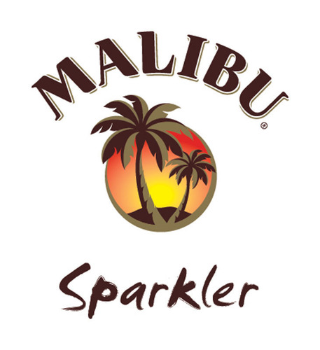 Malibu(R) Pops the Top Off Its Latest Product Innovation: Malibu(R) Rum Sparkler.  (PRNewsFoto/Pernod Ricard USA)