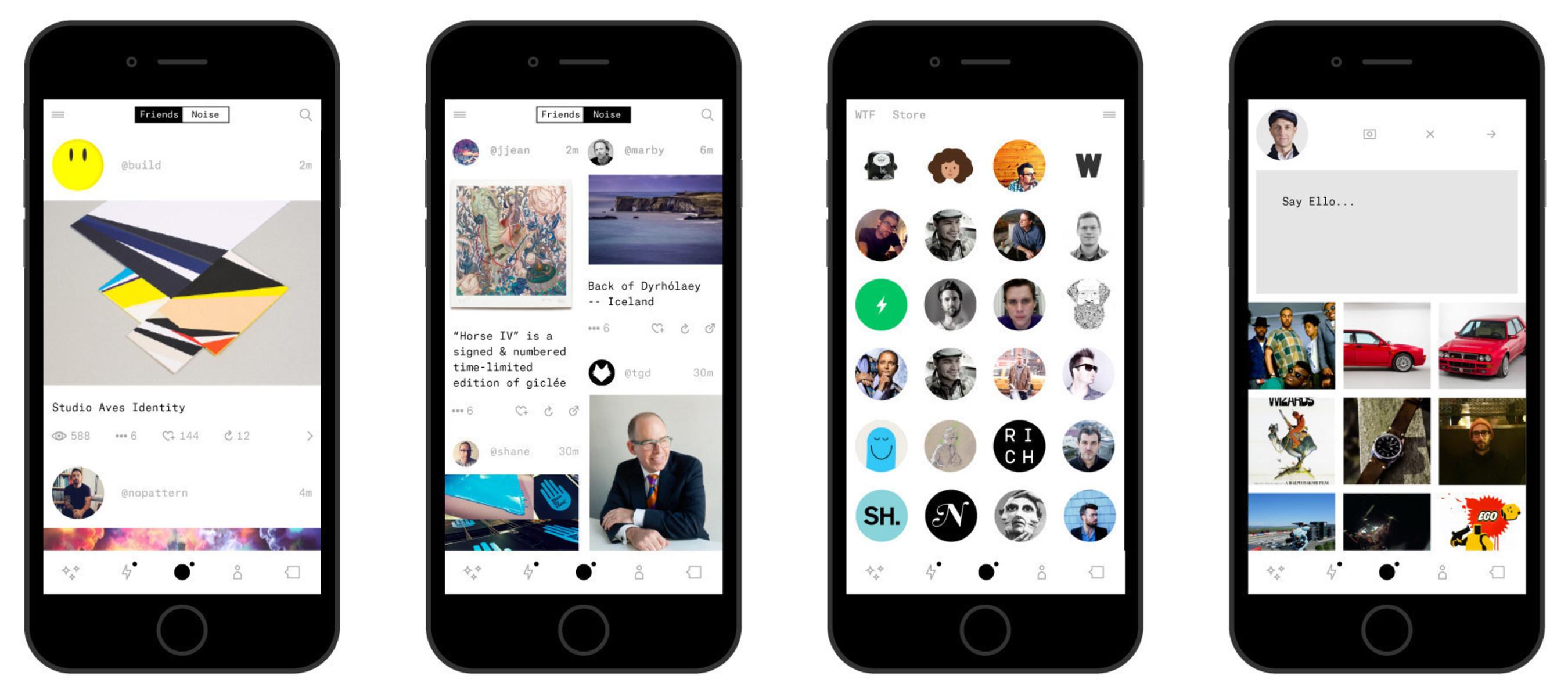 Ello.co - das revolutionäre Social Network - bringt Ello Beta V.2 auf den Markt - Es erzielt eine