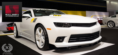 Harbin Automotive is part of an exclusive group of Saleen Dealerships in the US.  (PRNewsFoto/Harbin Automotive)