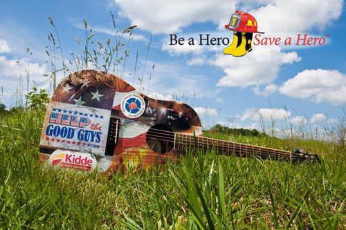 Fire safety heads to Nashville to urge music fans and Americans to pledge to Be a Hero, Save a Hero, and unveil  ...