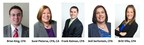 Due to firm growth, Siegfried announces five new Team Leaders across the U.S.