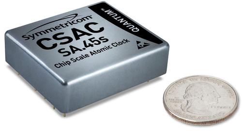 Quantum(TM) SA.45s Chip Scale Atomic Clock (CSAC).  (PRNewsFoto/Symmetricom, Inc.)