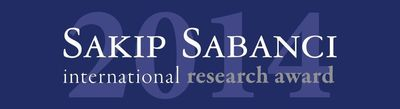 Sakip Sabanci International Research Award Logo