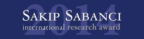 Sakip Sabanci International Research Award Logo (PRNewsFoto/Sabanci University)