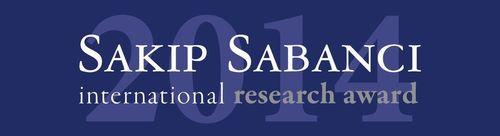 Sakip Sabanci International Research Award Logo (PRNewsFoto/Sabanci University)