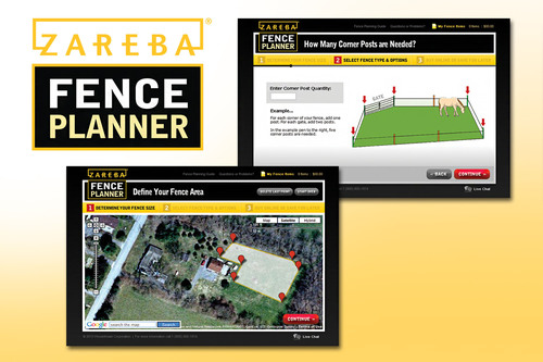 Zareba Launches First Online Electronic Fence Planner Using GPS Technology