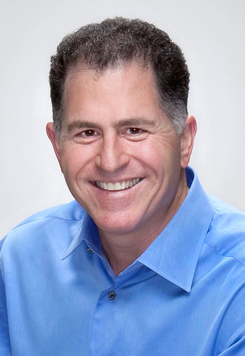 Michael Dell, founder, chairman and chief executive officer of Dell Inc.  (PRNewsFoto/National Society of ...