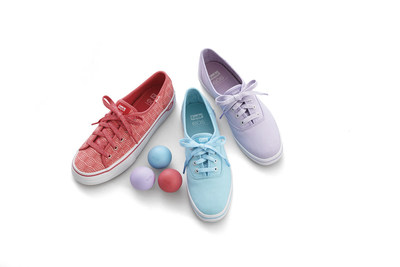 Styles from the new Keds(r) X eos(tm) collection. Photo courtesy of Keds(r)