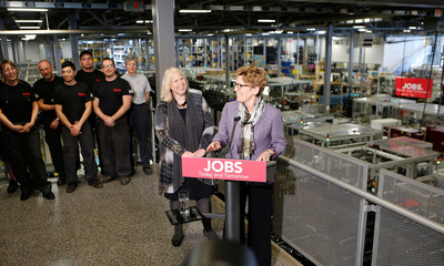 Supporting Ontario Manufacturers: Ontario helps companies innovate and create jobs