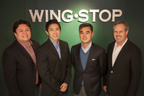 (Left to Right) Paolo Del Rosario, Walden Chu and Jay Ong of Wingstop Philippines, Inc. with Charlie Morrison, President and CEO of Wingstop Restaurants, Inc.  (PRNewsFoto/Wingstop Restaurants, Inc.)