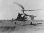 On September 14, 1939, Igor Sikorsky lifted off in his tethered VS-300 helicopter, beginning a flight test program that proved the efficiency and controllability of the single rotor design.  (PRNewsFoto/Sikorsky Aircraft Corporation)