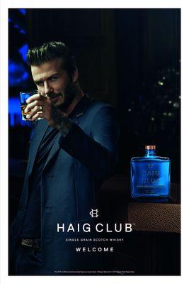 HAIG CLUB print advertising (1) (PRNewsFoto/HAIG Club and Diageo)