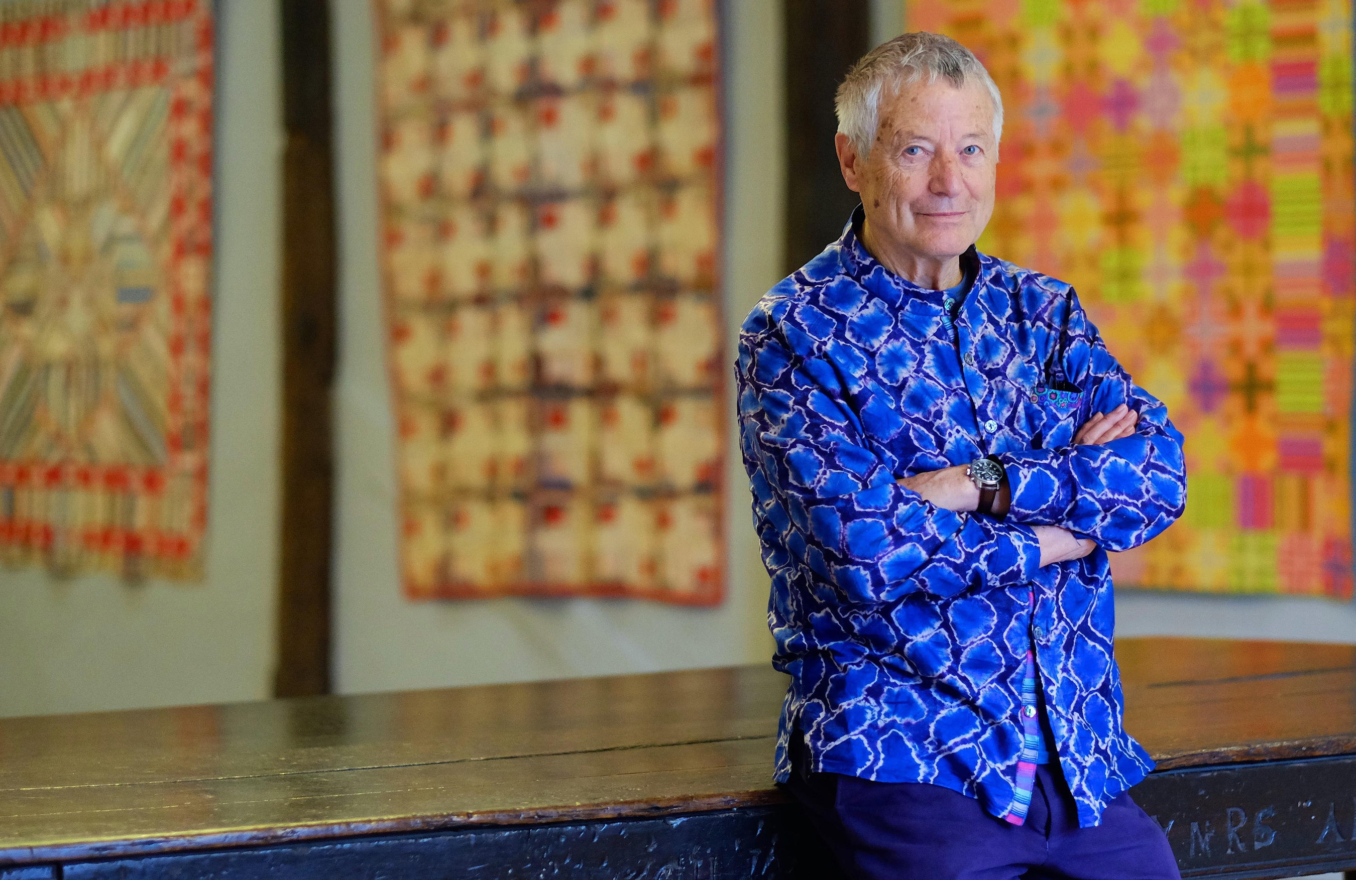 Michener to Host Celebration of Patchwork Art Featuring Internationally Renowned Artist Kaffe Fassett
