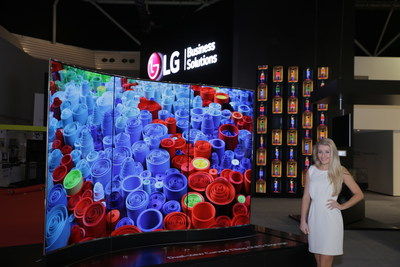 LG Electronics USA Business Solutions today announced digital signage displays based on revolutionary OLED technology.