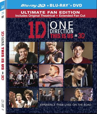 """One Direction: This Is Us """"Global Viewing Party"""" Unites Fans Around the World on Dec. 20. One Direction: This Is Us Debuts on Blu-ray(TM) Combo Pack with Digital HD UltraViolet(TM) Dec. 17 (PRNewsFoto/Sony Pictures Home Entertainment) (PRNewsFoto/SONY PICTURES HOME ENTERTAINMENT)"""