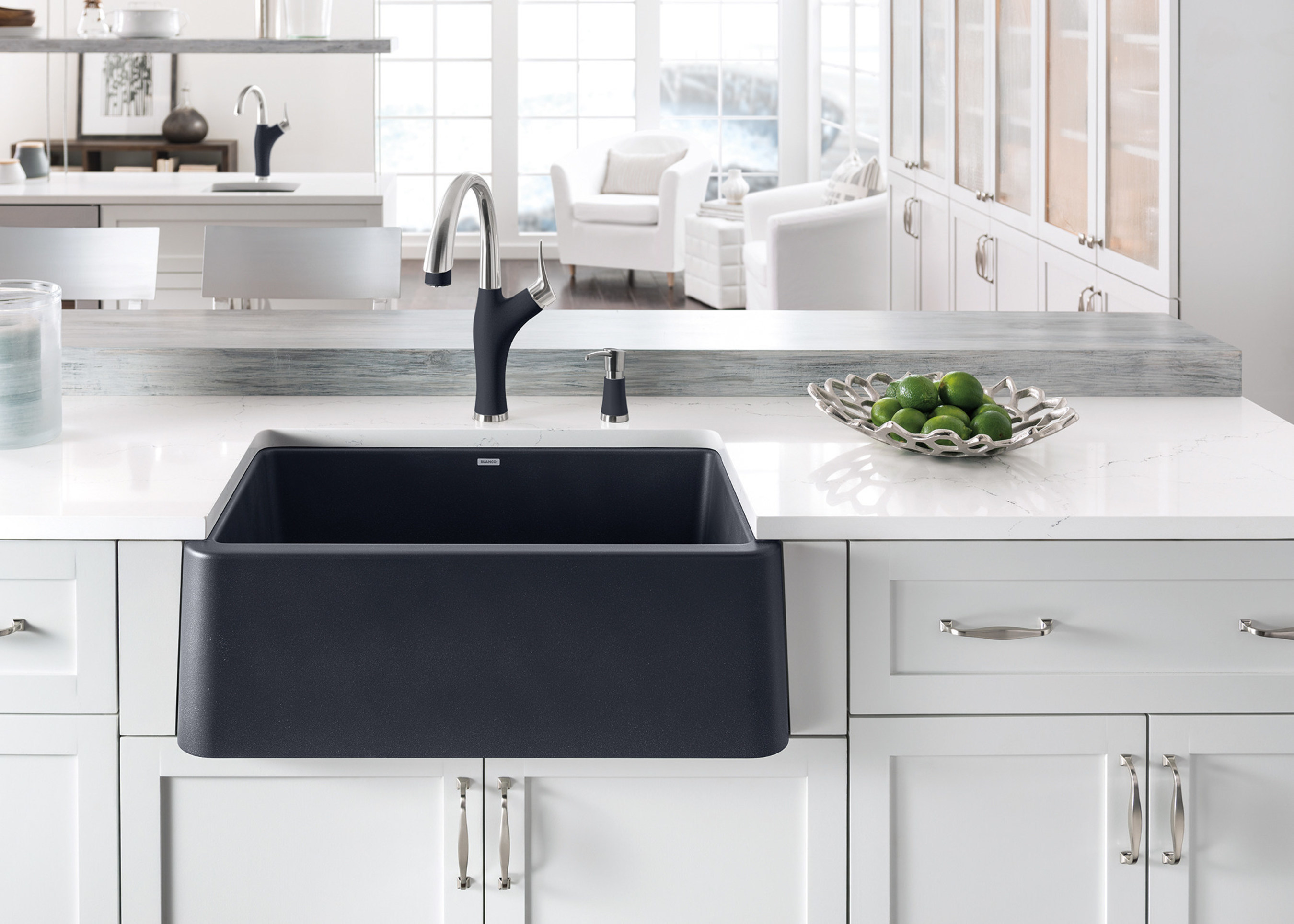 BLANCO Launches IKON™   The First Apron Front Sink Of Its Kind   Crafted  From BLANCOu0027s Patented SILGRANIT® Material, Which Combines On Trend Color  Selection ...