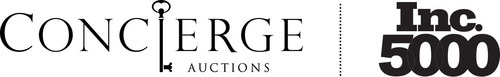 Concierge Auctions named one of America's fastest growing companies by Inc. Magazine (PRNewsFoto/Concierge ...