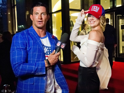 To celebrate the launch of the 2016 NFL Women's Apparel Collection, Steve Weatherford, NFL veteran, reports live from the opening night of New York Fashion Week, while Brooklyn Decker, actress, style expert and NFL fan, commented on fan styles from the Kickoff Game in Denver.