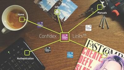 CONFIDEX LINKS THE WORLD OF NFC APPLICATIONS (PRNewsFoto/Confidex)