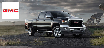 The 2015 GMC Sierra 2500HD, among other all-new vehicles, are the first to arrive at Briggs Buick GMC. (PRNewsFoto/Briggs Buick GMC)