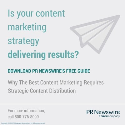 Why The Best Content Marketing Requires Strategic Content Distribution https://prn.to/2bUwtrq