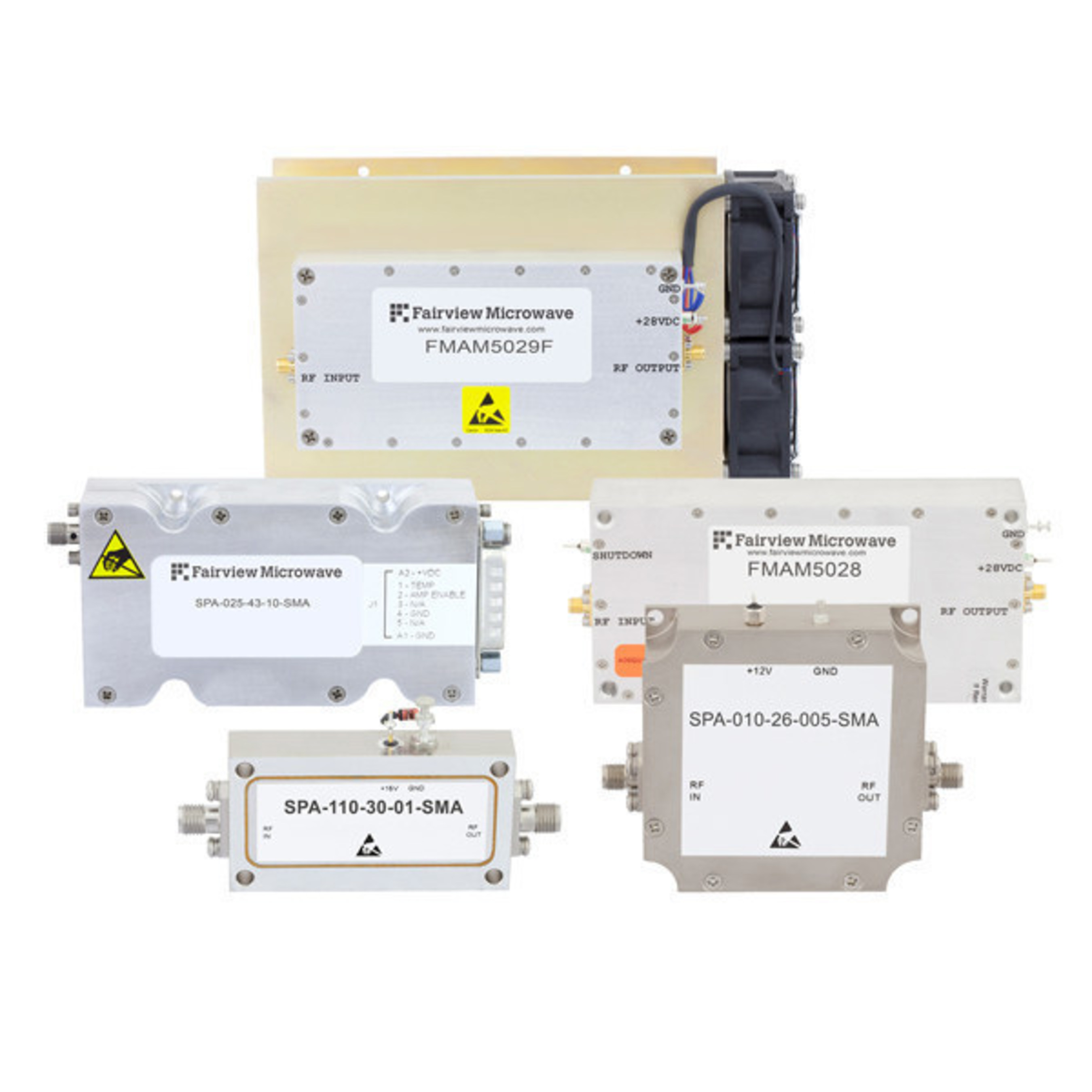 Fairview Microwave Debuts a Complete Family of High Reliability RF & Microwave Power Amplifiers