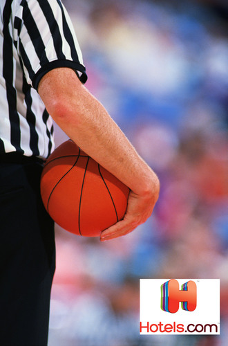Hotels.com and StubHub release March basketball tournament game guide. Fans can still find affordable tickets and hotel rates for college basketball games.  (PRNewsFoto/Hotels.com/StubHub)