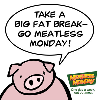 Meatless Monday offers delicious recipes for the lean days ahead! (PRNewsFoto/Meatless Monday) (PRNewsFoto/MEATLESS MONDAY)