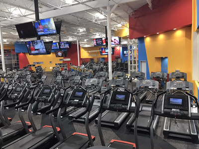 Fitness Connection in Austin is a clean, brand-new, 56,000-square foot gym with 100+ pieces of cardio equipment, large strength-training area, free kids' club, women's-only workout area, personal training and group exercise classes.