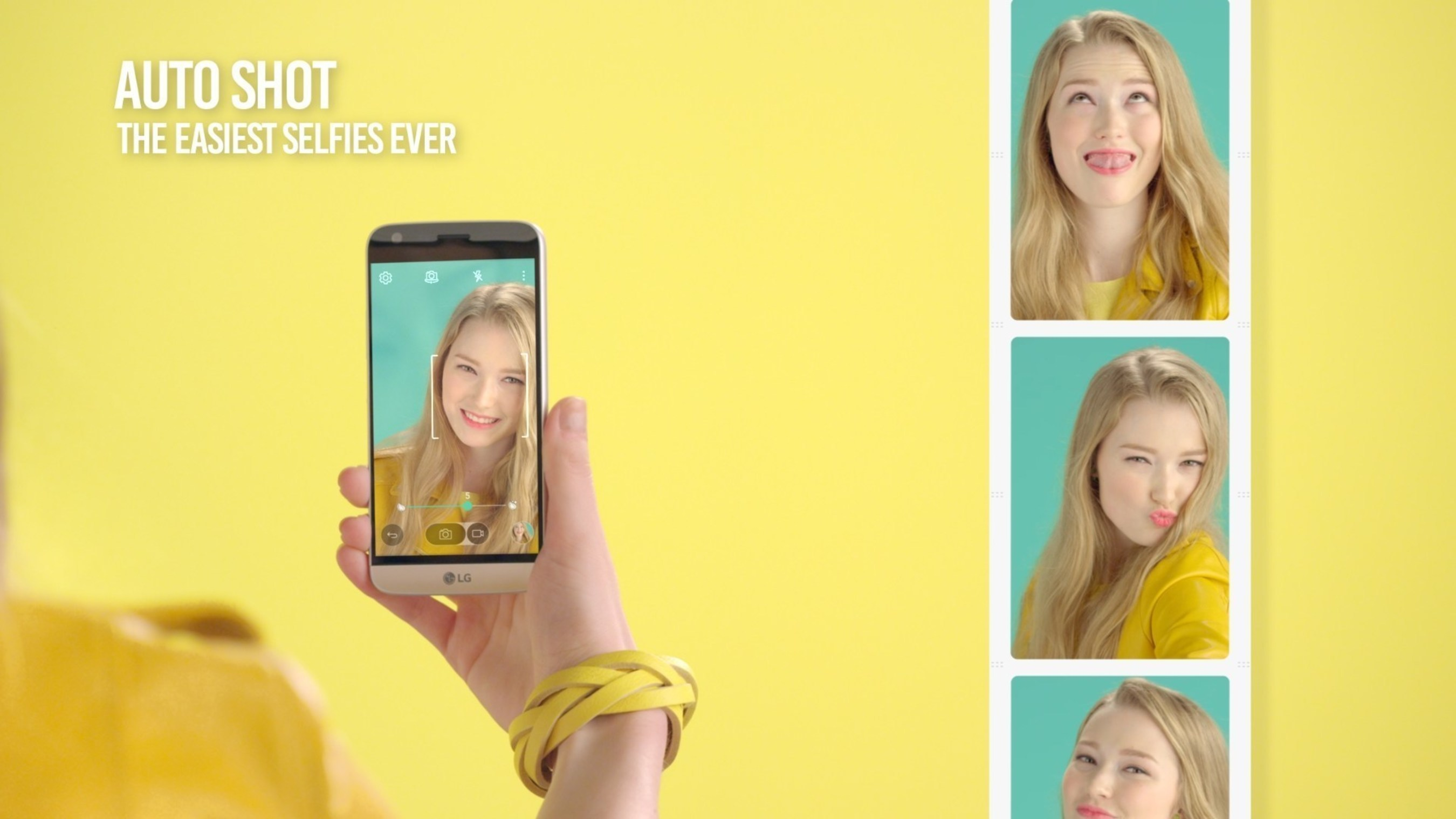 Auto Shot: An enhanced version of Gesture Shot, take the perfect selfies with this smart feature which triggers the shutter as soon as the users' face is recognized.