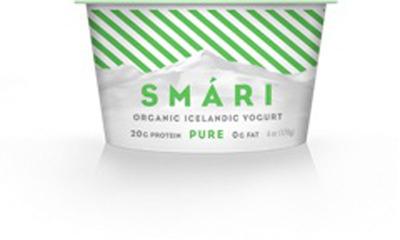 Smari Icelandic yogurt is now available nationally.  (PRNewsFoto/Smari)