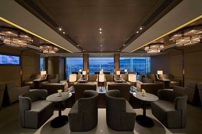 Plaza Premium Lounge at West Hall, Hong Kong International Airport.  (PRNewsFoto/Plaza Premium Lounge)