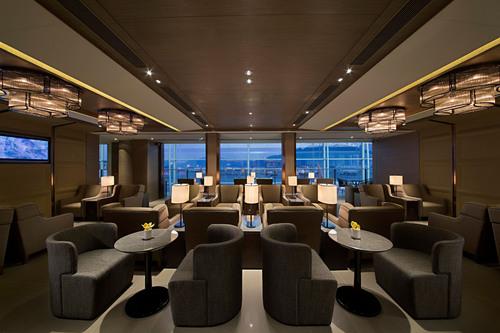 Plaza Premium Lounge at West Hall, Hong Kong International Airport.  (PRNewsFoto/Plaza Premium Lounge)