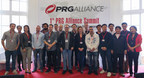 The PRG Alliance 1st anniversary meeting at the Prolight + Sound 2015 trade fair in Frankfurt Germany. Production Resource Group, L.L.C., (PRG) recently concluded the first PRG Alliance Summit, held on 16th April 2015 during the Prolight + Sound 2015 trade fair at the Festhalle Messe Frankfurt. Prolight + Sound is the leading international trade fair for the event-technology sector and covers all products, trades, and services for this market segment. This was the ideal event to bring together the PRG Alliance members and at the Summit, there were 28 countries represented by 65 attendees.