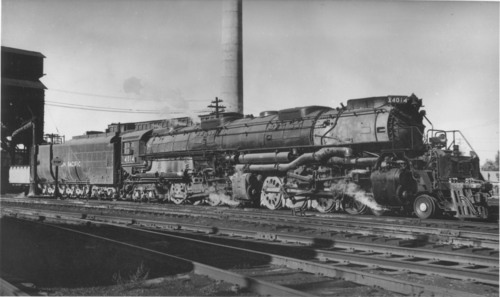 Union Pacific Big Boy No. 4014 locomotive.  (PRNewsFoto/Union Pacific)