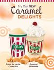 Rita's Italian Ice Introduces Dulce de Leche Cream Ice and Caramel Delights.  (PRNewsFoto/Rita's Italian Ice)