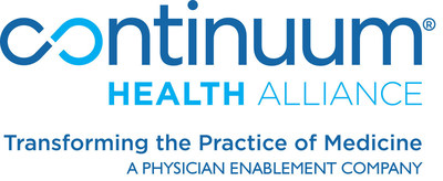 "Continuum Health Alliance, LLC (""Continuum"") is a physician enablement company that optimizes value-based commerce through population health, practice management and network development services. The company offers proven, strategic business and clinical solutions empowering physician enterprises and other providers to enhance patient access and experience, improve health and lower overall costs. Continuum serves 1,200+ primary care physicians, specialists and nurse practitioners in nearly 400 medical offices and hospital locations. Learn more at www.challc.net."