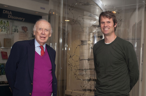 Pandora Founder Tim Westergren and Co-Discoverer of DNA Dr. James Watson Meet