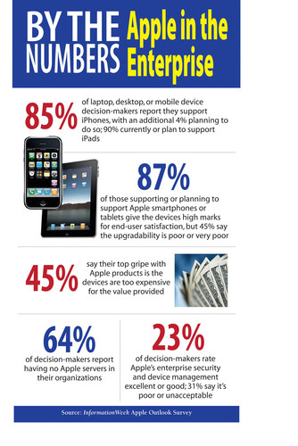 Over 80% Of Organizations Support Or Plan to Support iPads, Says InformationWeek.  (PRNewsFoto/UBM Tech)