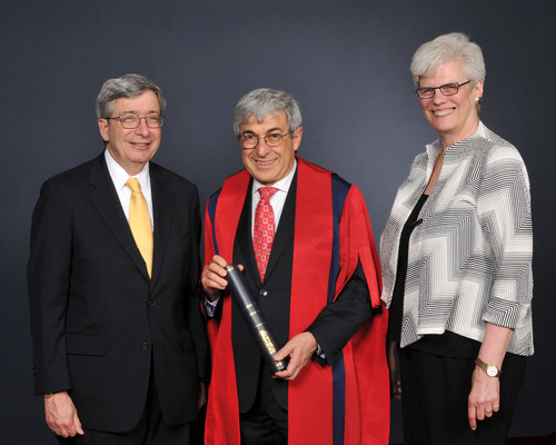 King's College London Awards Honorary Fellowship of the College to Henry Schein Chairman of the