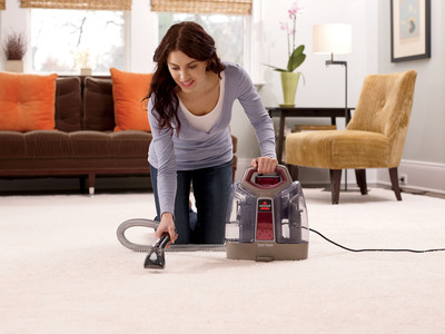 BISSELL SpotClean Portable Deep Cleaner.  (PRNewsFoto/BISSELL Homecare, Inc.)