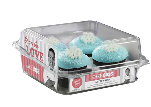 Cake Boss Let It Snow 4-count Cupcakes