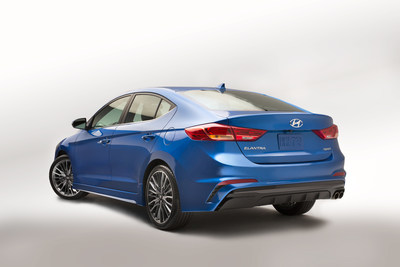 2017 Hyundai Elantra Sport Unlocks Passion, Power And Performance