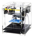 The small size and transparent case of the newly launched CoLiDo Compact 3D printer is ideal for home user.