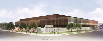 The new headquarters and training facility for the Los Angeles Lakers